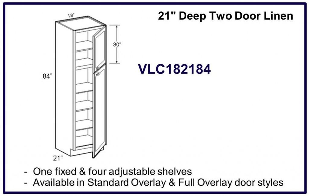 2 door linen cabinet