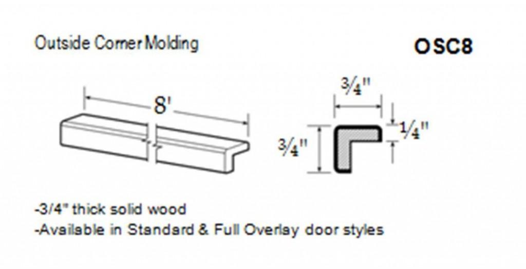 outside corner molding