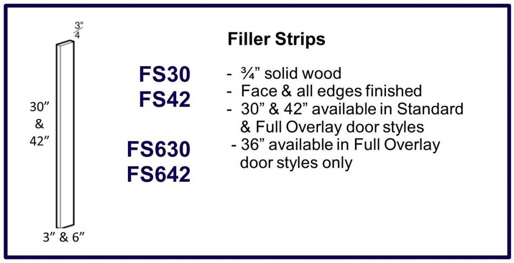 filler strips
