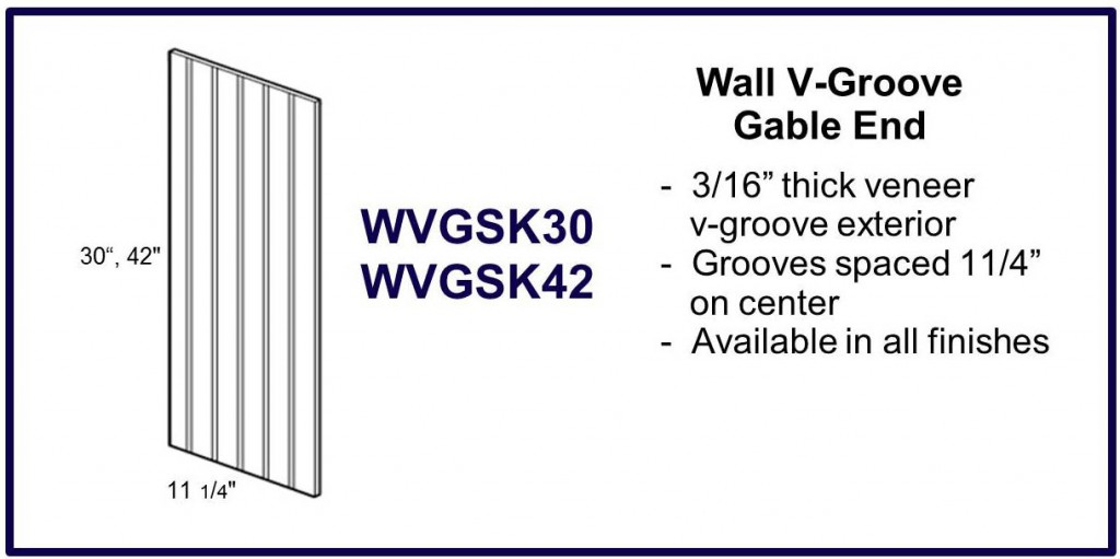 v groove gable end